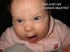 Outraged baby